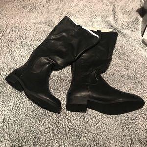Women's knee high black boots Torrid 12 1/2 W